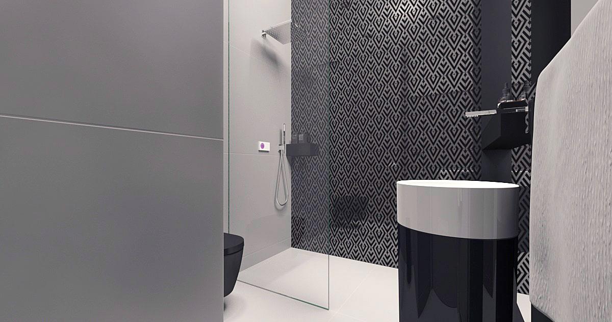 Projekt łazienki w minimalistycznym domu