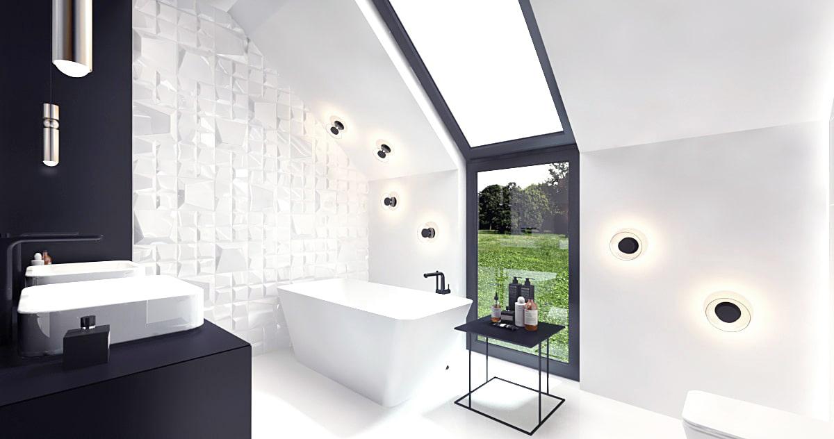 Minimalistyczny projekt domu nowoczesnego
