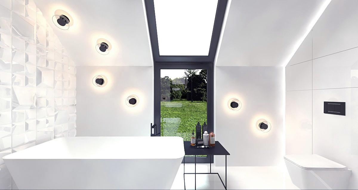 Minimalistyczny projekt nowoczesnego domu