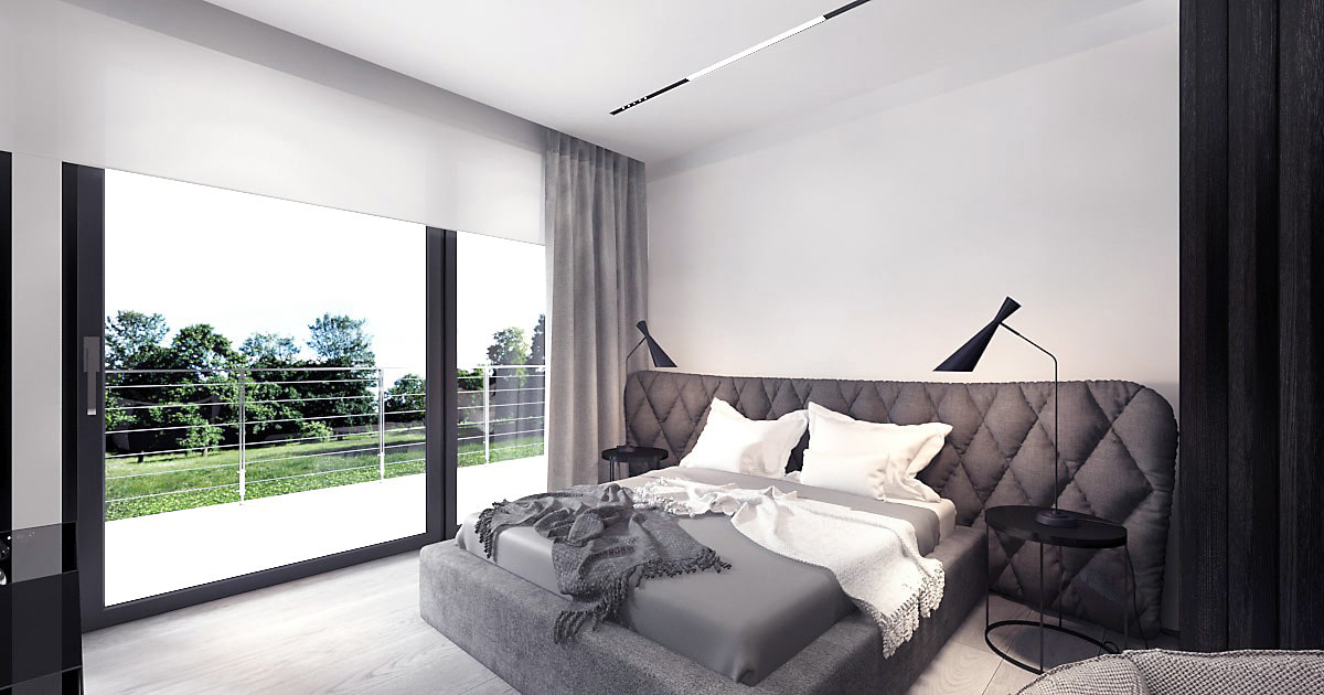 Dom minimalistyczny: projekt