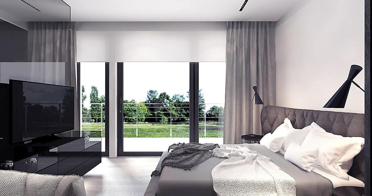 Dom w stylu minimalistycznym: projekt