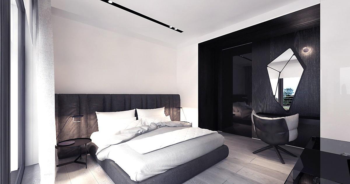 Projekt minimalistycznego domu