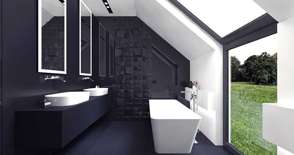 Jednorodzinny dom minimalistyczny
