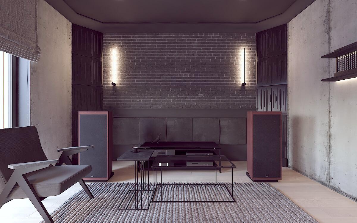Projekt pomieszczenia odsłuchowego