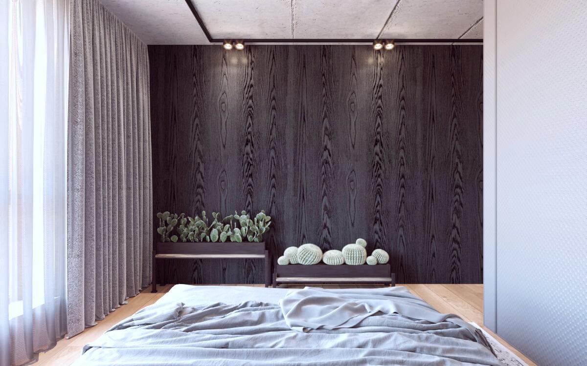 Sypialnia z łazienką: projekt